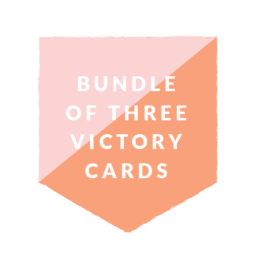 Bundle of 3 Sets of Victory Cards