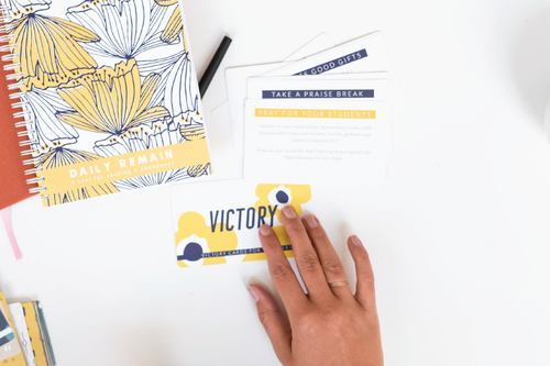 Victory Cards for Teachers