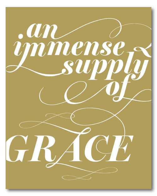 Immense Supply of Grace Digital Download