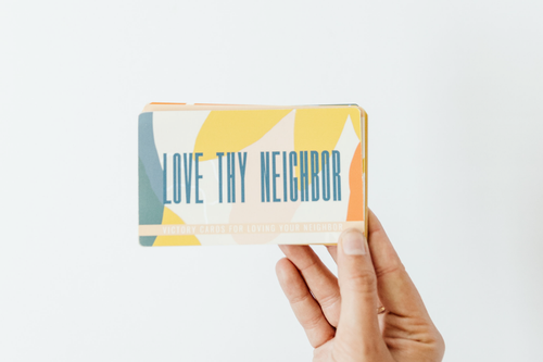 Love Thy Neighbor Victory Cards