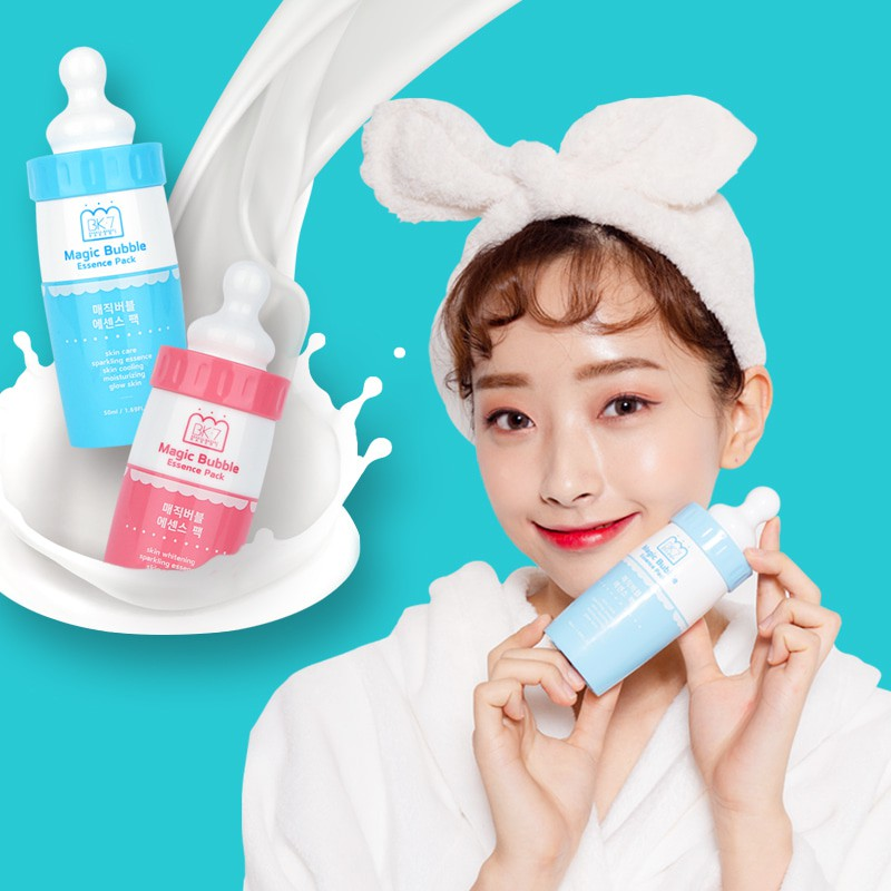 Magic Bubble Essence Pack- Blue (Trouble Care) - Full Face Project