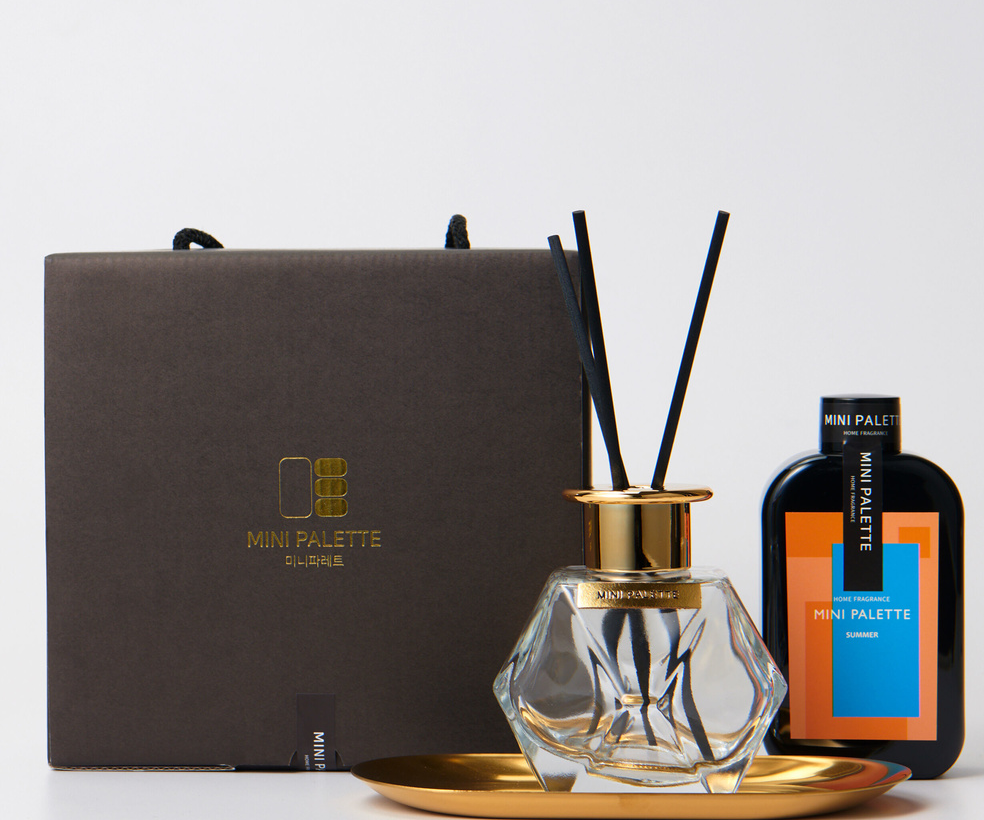Premium Gold Diffuser Sets (4 SEASON) - Full Face Project
