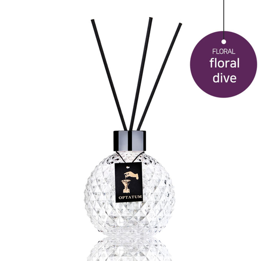 [Floral Dive] Reed Diffuser Set - Full Face Project
