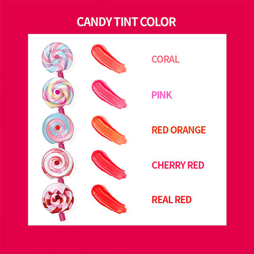 Candy Lip Tint - (5 colors)