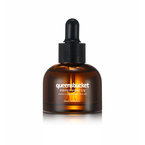 QUEENSBUCKET - extra virgin sesame face oil - Full Face Project