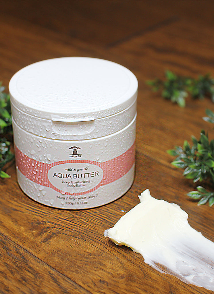 AQUA BUTTER - Deep Moisturizing Body Butter - Full Face Project