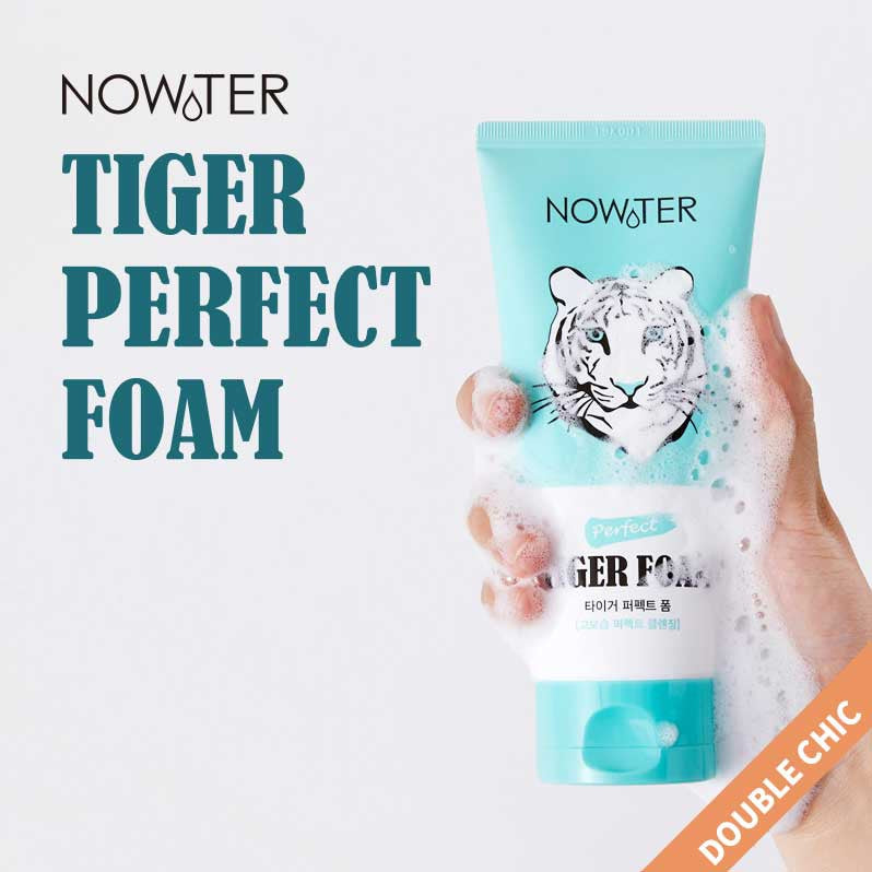 NOWATER Tiger Perfect Foam Cleanser