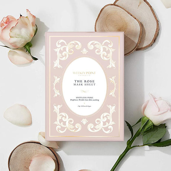 The Rose Vegan Facial mask sheet (10pcs in 1pack)
