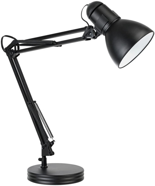 Globe Electric 5698601 Heavy Base Architect Desk Lamp, 33.86-Inch, Black