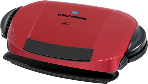 George Foreman 5-Serving Removable Plate Electric Indoor Grill and Panini Press