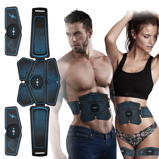Abs Stimulator, Muscle Toner - Abs Stimulating Belt- Abdominal Toner- Training Device for Muscles- Wireless Portable to-Go Gym Device- Muscle Sculpting at Home- Fitness Equipment