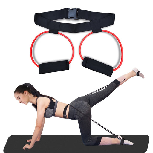 Booty Resistance Bands - Exercise Belt Band. Perfect for Home Workout. Includes Carry Bag and Fitness Planner eBook
