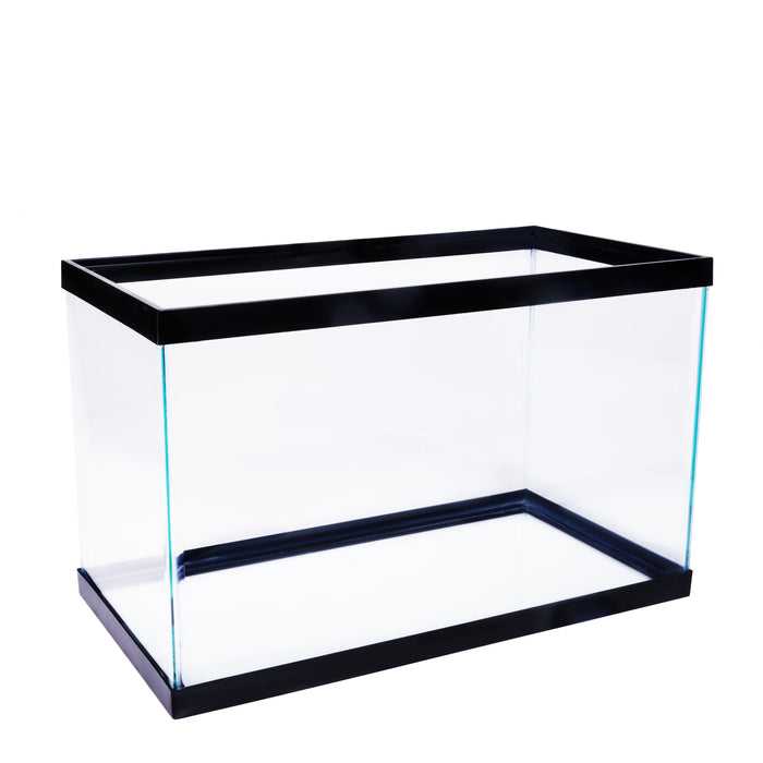 10 Gallon Fish Tank Aquarium Clear Glass Terrarium Pet Aqua Reptiles Goldfish