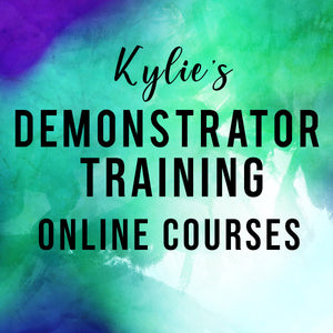 Kylie's Stampin' Up!® Demonstrator Online Training Courses