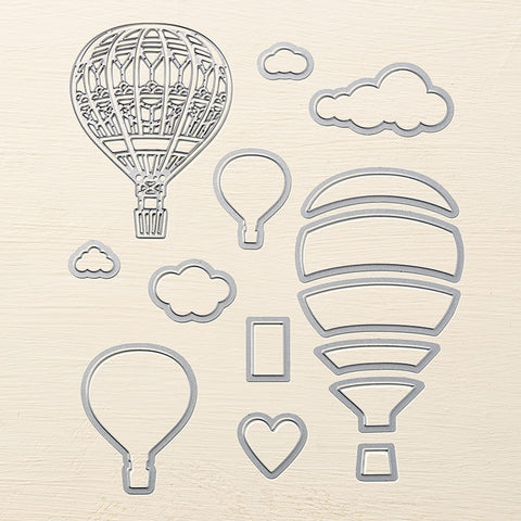 Up & Away Thinlits Dies | Retired Framelits/Dies Collection | Stampin' Up!