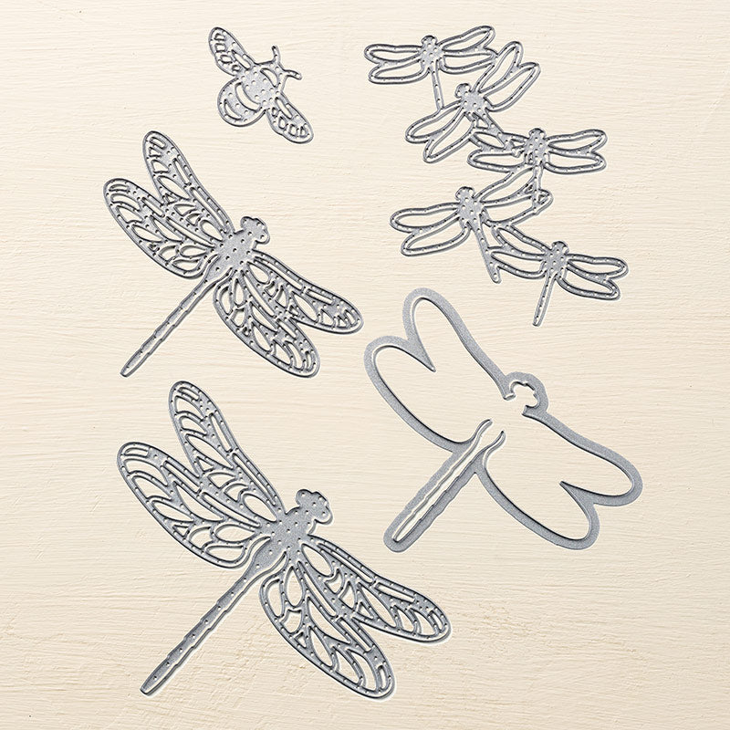 Detailed Dragonfly Framelits Dies | Retired Framelits/Dies Collection | Stampin' Up!