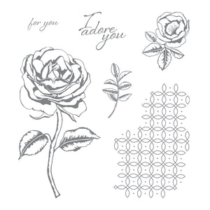 Graceful Garden | Retired Clear Mount Stamp Set | Stampin' Up!