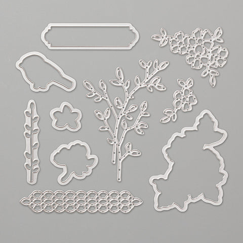 Petals & More Thinllits Dies | Retired Framelits/Dies Collection | Stampin' Up!