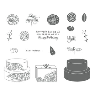 Cake Soiree | Retired Clear Mount Stamp Set | Stampin' Up!