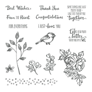 Petal Parade | Retired Clear Mount Stamp Set | Stampin' Up!