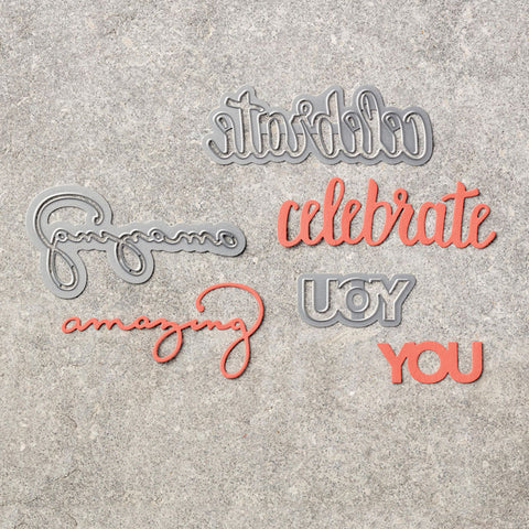 Celebrate You Thinlits Dies | Retired Framelits/Dies Collection | Stampin' Up! | BRAND NEW!