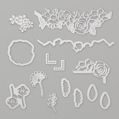 Lovely Flowers Dies | Retired Dies Collection | Stampin' Up!