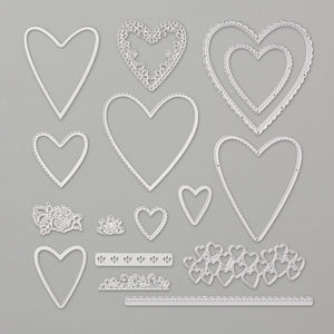 Be Mine Stitched Framelits Dies | Retired Framelits/Dies Collection | Stampin' Up!