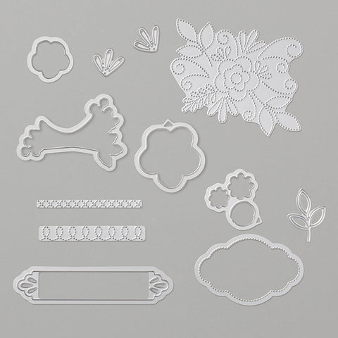 Needlepoint Elements Framelits Dies | Retired Framelits/Dies Collection | Stampin' Up!