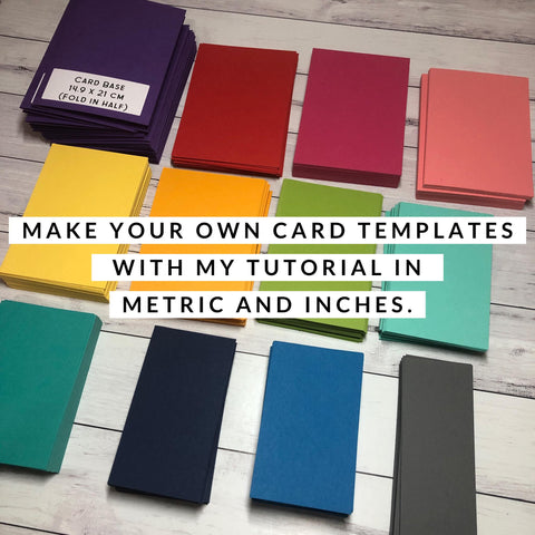 Card Templates Tutorial (Instant Download)