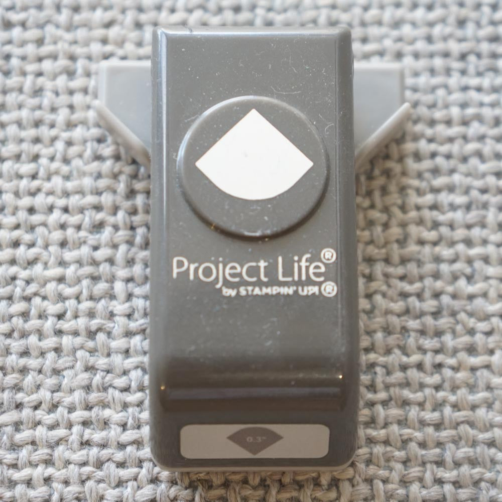 Project Lift Corner Punch Retired Punch Kylies Stampin Up