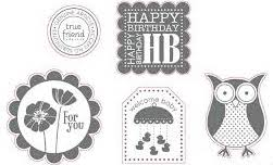 Punch Bunch | Retired Wood Mount Stamp Set | Stampin' Up!