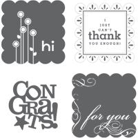 Say it with Scallops | Retired Wood Mount Stamp Set | Stampin' Up!