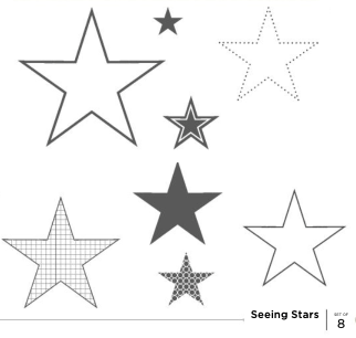 Seeing Stars | Retired Wood Mount Stamp Set | Stampin' Up!