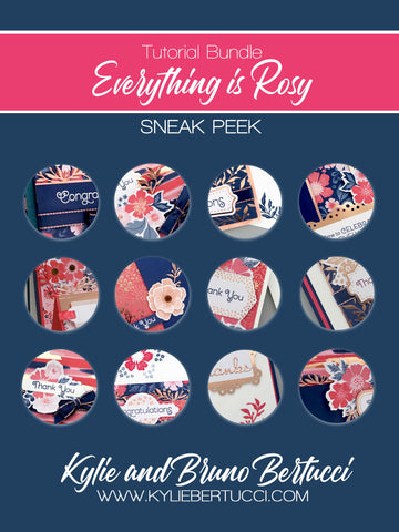 Everything is Rosy Tutorial Bundle (instant download)