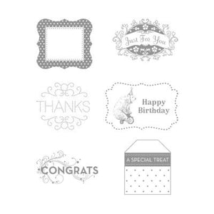 Tagtastic | Retired Wood Mount Stamp Set | Stampin' Up!