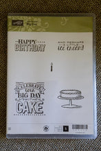 Big Day | Retired Sale a Bration Clear Mount Stamp Set