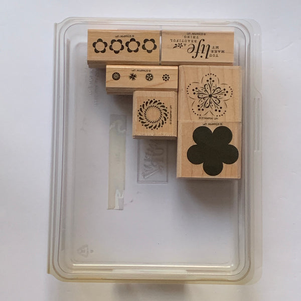 A Beautiful Thing | Retired Wood Mount Stamp Set | Stampin' Up!
