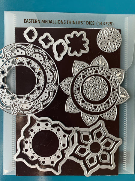 Easterns Medallions Thinlits Dies | Retired Framelits/Dies Collection | Stampin' Up!