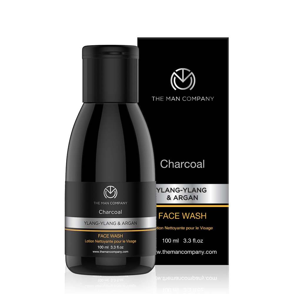 Ylang-Ylang & Argan | Charcoal Face wash
