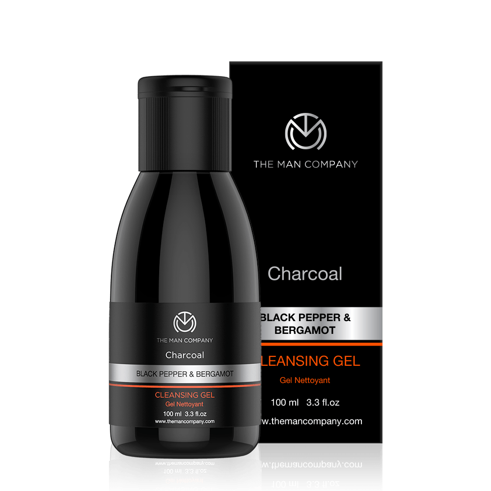 Black Pepper & Bergamot | Charcoal Cleansing Gel