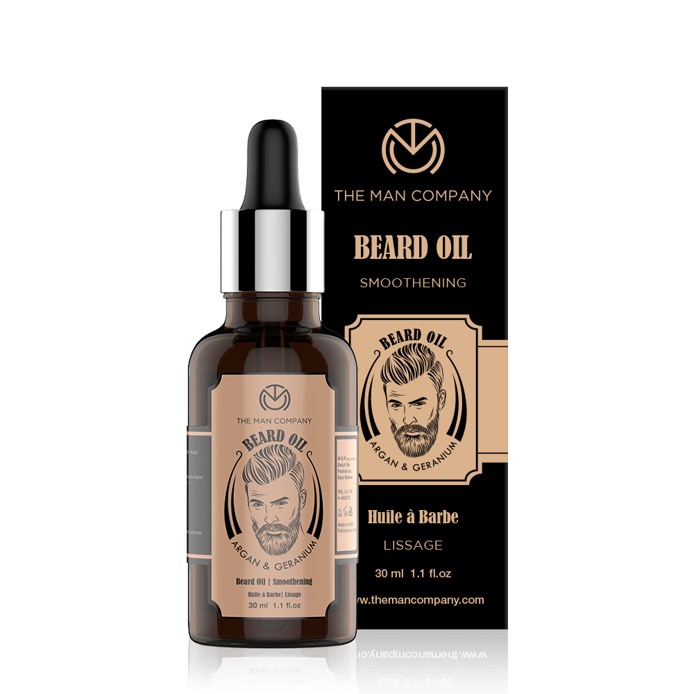 Argan & Geranium | Beard Oil