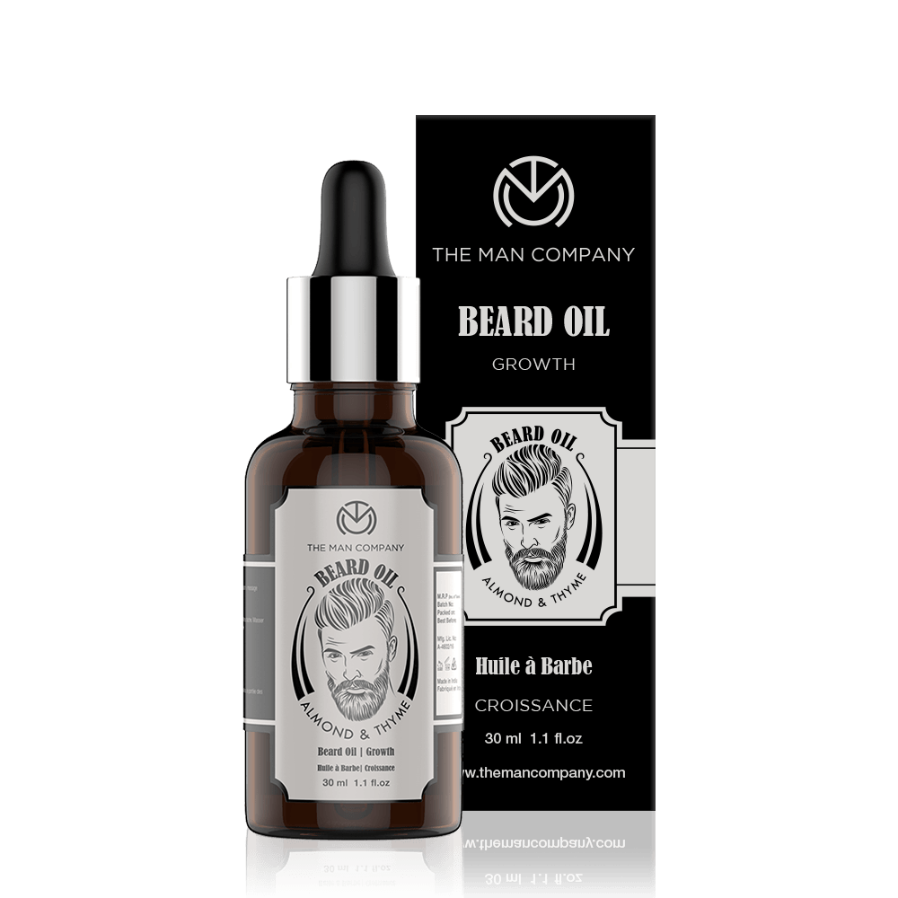 Almond & Thyme | Beard Oil