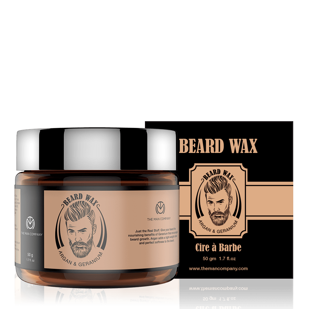 Argan & Geranium | Beard Wax