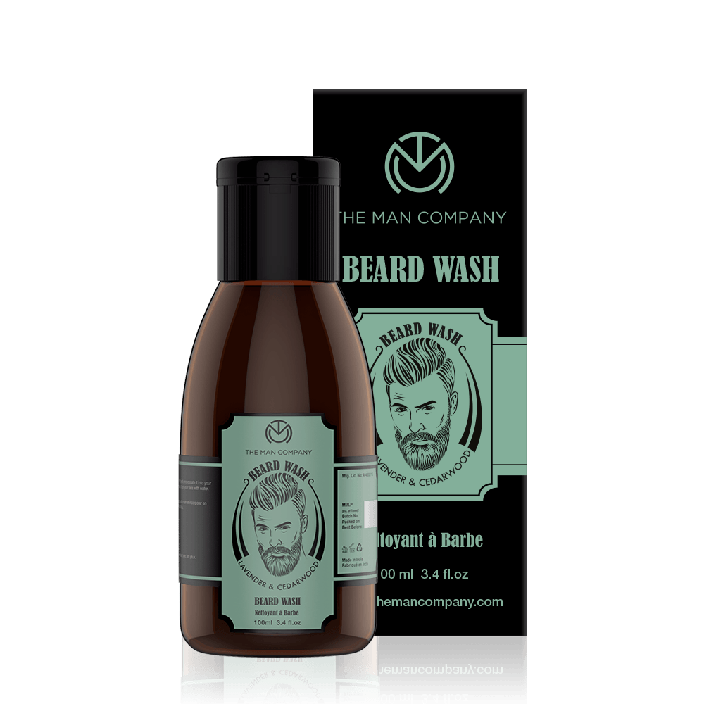 Lavender & Cedar Wood | Beard Wash
