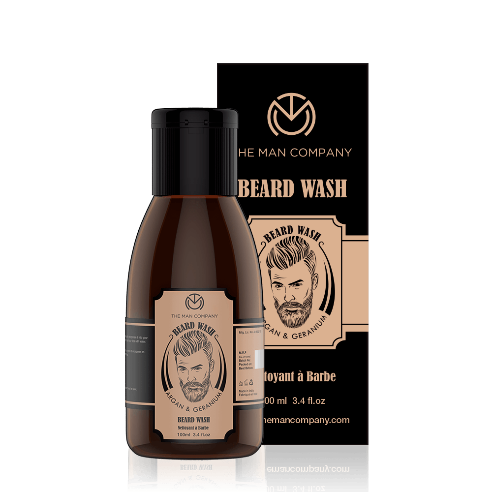 Argan & Geranium | Beard Wash