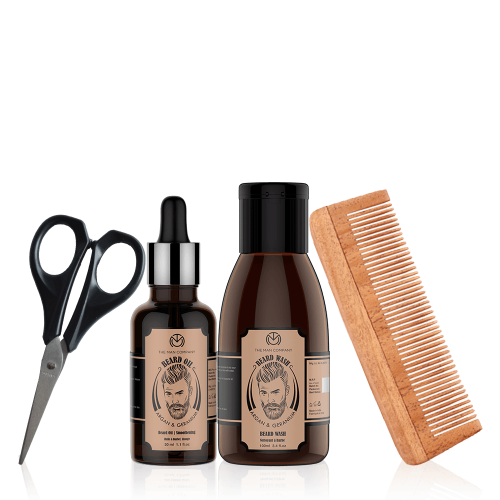 Argan & Geranium Beard Box