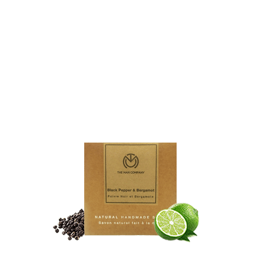 Blackpepper & Bergamot | Soap Bar