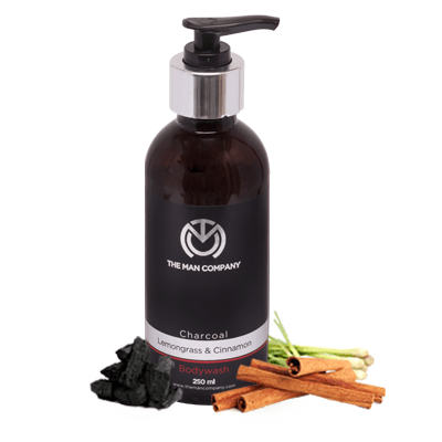 Lemongrass & Cinnamon | Charcoal Body Wash