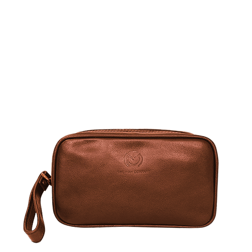 Voyager | Brown Leather Travel Bag