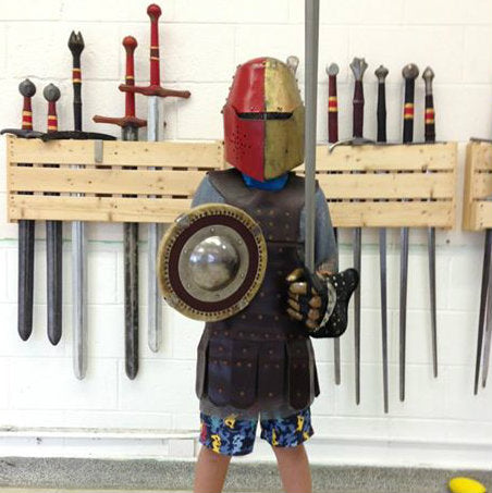 Spring Young Knights course, Saturdays, 5 classes